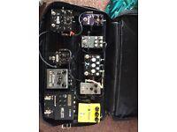 Pedalboard, cochrane timmy, strymon, source audio, voodoo lab pedal power, diamond!!