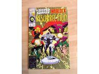 An Original 1993 Marvel The Silver Surfer Warlock Resurrection US Comic - Mint Condition