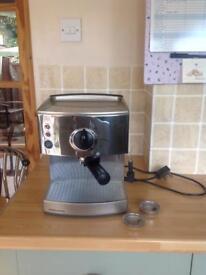 Morphy Richards Roma pump Espresso/cappuccino coffe maker