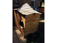 Solid Wood dog kennel