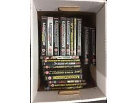 19 UFC BOX SETS / DVDS LIKE NEW