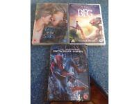 3 brand new DVDs