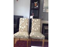 Oak furniture land chairs
