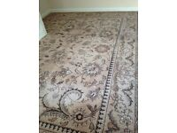 Wool carpet extremely heavy good quality cost £379 sell £75