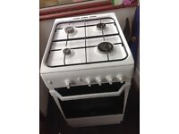 Good condition Indesit gas oven with 4 burner hob in good working order for sale