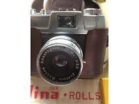 Canon Camara and Halina Rolls Camara