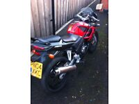 Honda CBR 125 needs new battery and fuel cap
