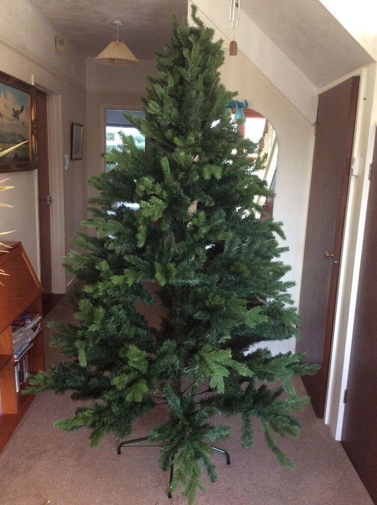 6ft Christmas Tree with stand - good condition - like new