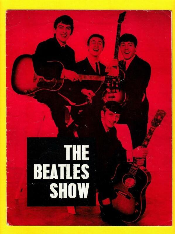 The Beatles Show Original 1963 Concert Program Odeon Theatre Gary & Pacemakers