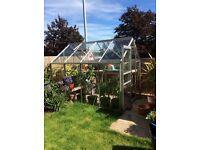 Greenhouse 6x8, Aluminium