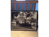 Collectable Beatles framed pics