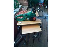 black and decker chain saw