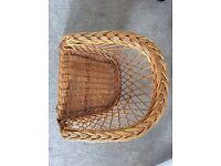 Vintage Child's Wicker Chair