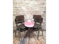6 Vintage Infant Chairs