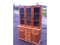 Beautiful solid pine Welsh dresser