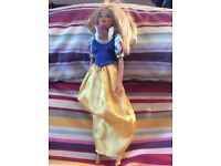 Barbie Snow White dress and doll
