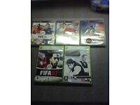 X box and PS3 games