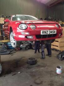 1997 Toyota celica gt parts breaking