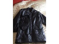 Gents Leather Jacket - Nearly New