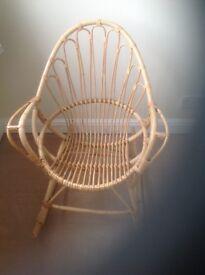 Cane rocking chair