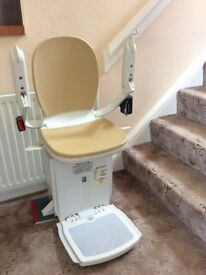 Brooks 180 Stair Lift - Fitted new in June 2016, only used for 6 months. Disassembled.