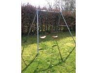 Children's TP double swings set - Excellent condition