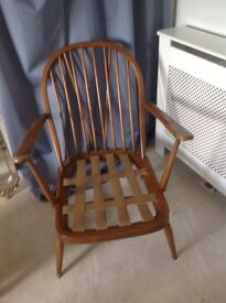 Ercol chair, ready for restoration!