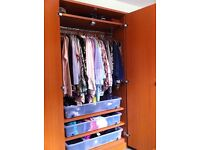 Pine -Wardrobe Home/Office Cabinets (Desk, Exec Chair, Open Shelving etc)