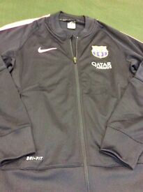 Mens zip from Barcelona Nike track suit top, worn once.