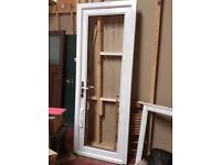Brand new high quality UPVC door and frame