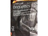 Large new bag quality charcoal briquettes