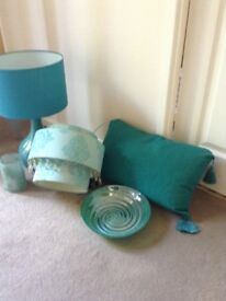 Turquoise home accessories