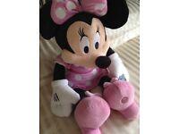 Minnie Mouse Walt Disney Big Plush Soft Toy Brand New With Tags