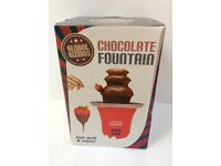 Brand New Chocolate Fountain. Global Gizmos. Perfect Gift For Christmas/Birthday
