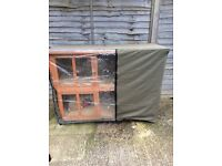 Rabbit/guinea pig hutch for sale.