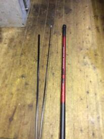 Browning First Premium Carbon Pole carp, course