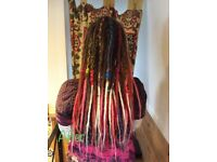 Qualified loctitian offering full dreadlock services in and around East Midlands.