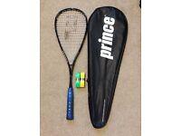 BARGAIN!!! Prince O3 Pro Tour Black Squash Racket