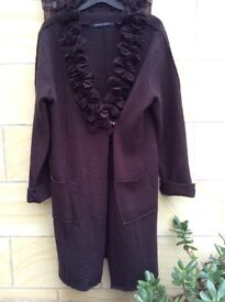 Wool coat size 12/14