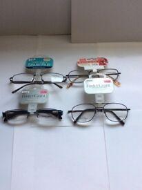 Reading glasses x 4 pairs
