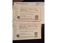 Sean Lock tickets (2) for Saturday 8th October, Dundee