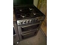Silver cooker gas 60cm....cheap free delivery
