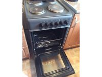 Cooker electric black/grey in colour good condition