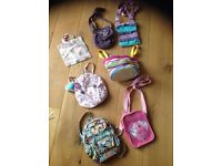 Girls bag bundle cath kidston fatface monsoon joules ect
