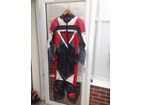 Two piece leathers