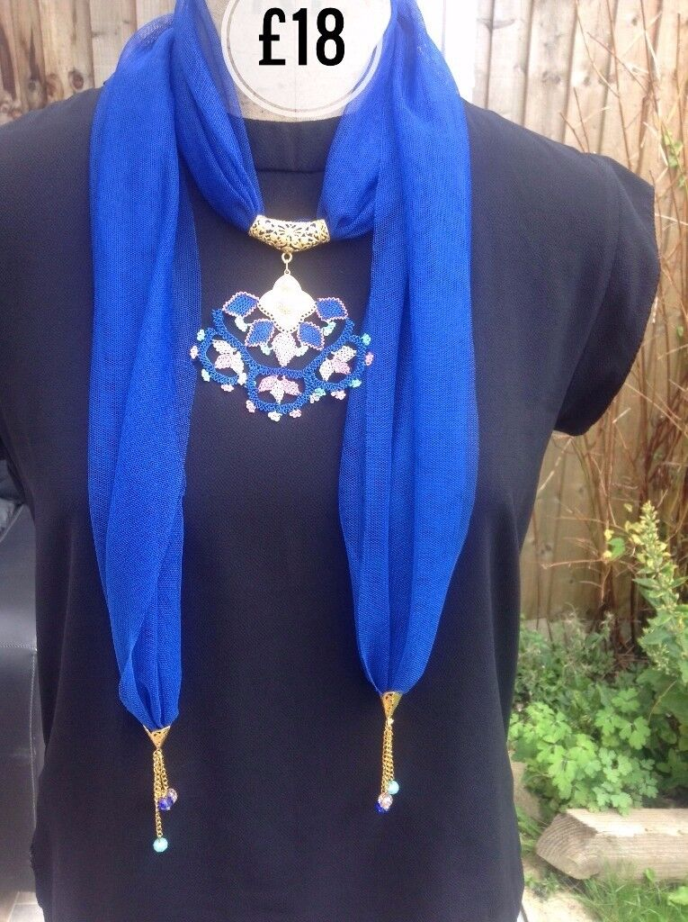 HANDMADE - Women's Accessories- Gift for Women,Neck Tie, Scarf, Snood, Necklace