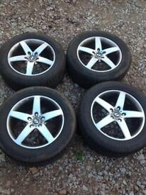 Stilauto Alloy wheels and tyres 17""
