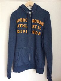 Abercrombie & Fitch men's zipped hoodie muscle fit X large. Brand new, never worn.