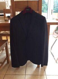 Black suit 2 piece