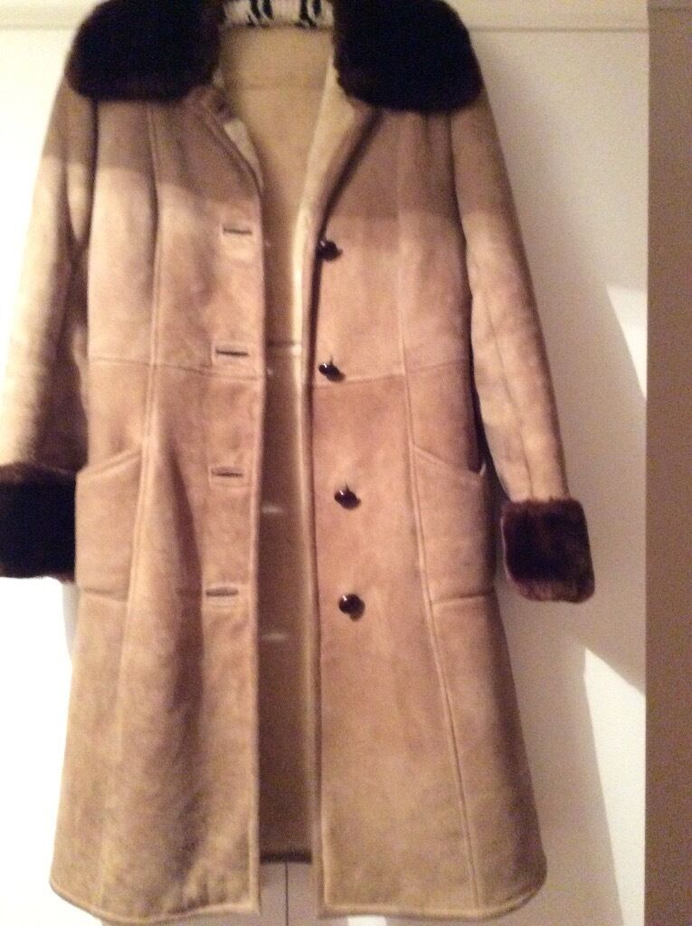 Lady's sheepskin coat